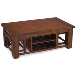 Rectangular Cocktail Table w/casters and 2 stools