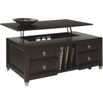 Darien T1124-50  Lift Top Cocktail Table