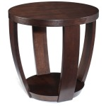 Sotto Round End Table