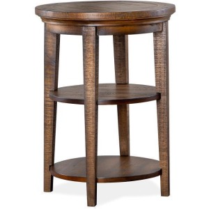 Bay Creek Round Accent End Table
