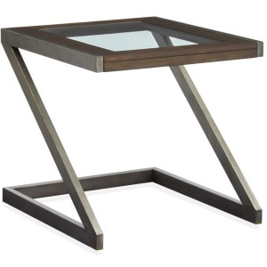 Zahir Rectangular End Table