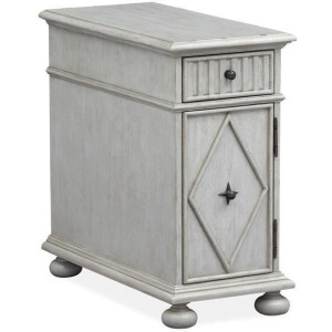 Mosaic Chairside End Table - Grey