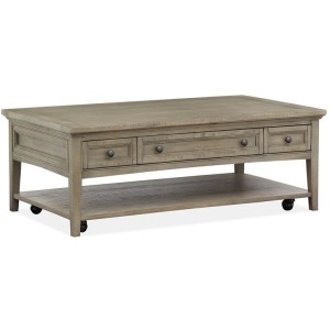Paxton Place Rectangular Cocktail Table w/Casters