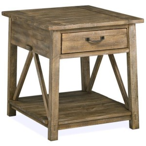 Bluff Heights Rectangular End Table