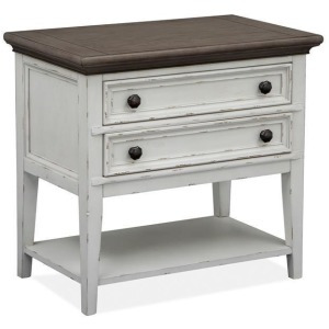 Bellevue Manor Open Nightstand (no touch lighting control)