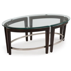 Carmen Oval Cocktail Table
