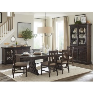 D4210 Table, 4 Sides, Bench