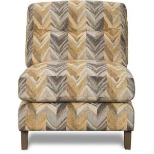 Accent Armless Chair - (Umbria Hemp)
