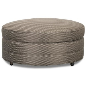 Rosslyn Round Accent Cocktail Ottoman