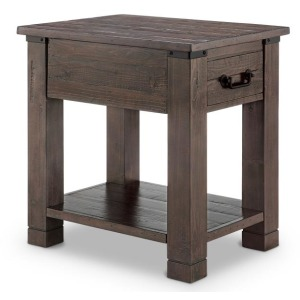 Pine Hill Rectangular End Table