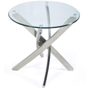 Zila Round End Table