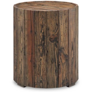 Dakota Round End Table