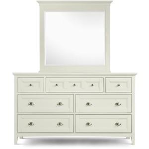 Kentwood Double Dresser & Landscape Mirror