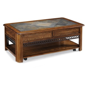 Madison Rectabgular Lift-Top Cocktail Table