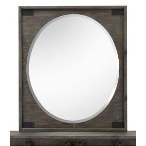 Abington Portrait Oval Mirror