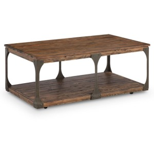 Montgomery Rectangular Cocktail Table (w/Casters)