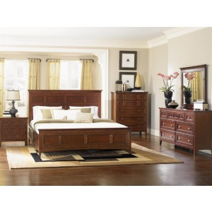 Harrison 4 PC King Panel Bedroom Set