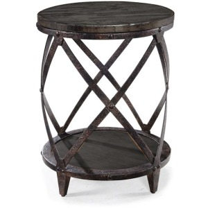 Milford Round Accent Table