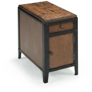 Pinebrook Chairside Door End Table