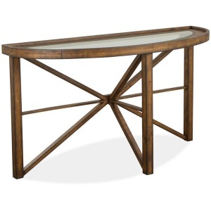 Kirkpatrick Demilune Sofa Table