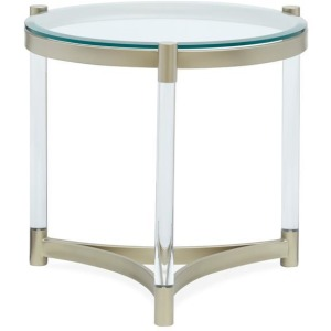 Silas Round End Table