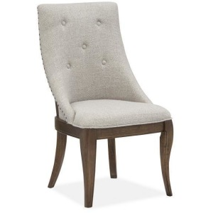 Roxbury Manor Dining Arm Chair w/Upholstered Seat & Back