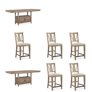 Paxton Place 7PC Counter Height Dining Set