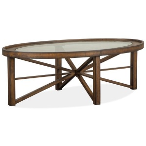 Kirkpatrick Oval Cocktail Table