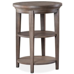 Paxton Place Round Accent End Table