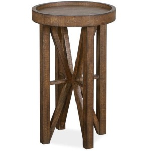 Kirkpatrick Round Accent End Table
