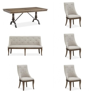 6PC Roxbury Manor Dining Set