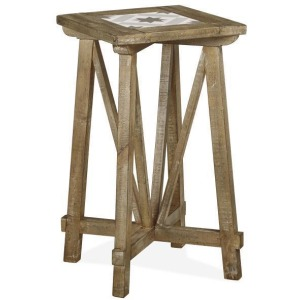 Bluff Heights Square End Table