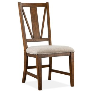Bay Creek Dining Side Chair w/Upholstered Seat