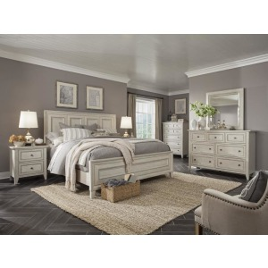 Raelynn 4 PC Queen Panel Bedroom Set