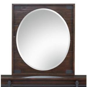 Pine Hill Portrait Oval Mirror