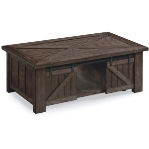 Fraser Rectangular Lift-Top Cocktail Table w/casters