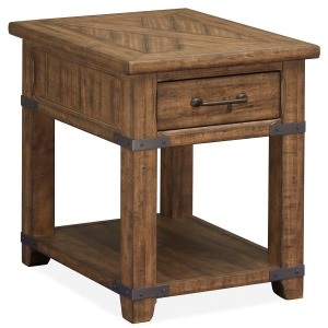 Chesterfield Rectangular End Table