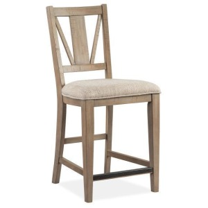 Paxton Place Counter Chair w/Upholstered Seat