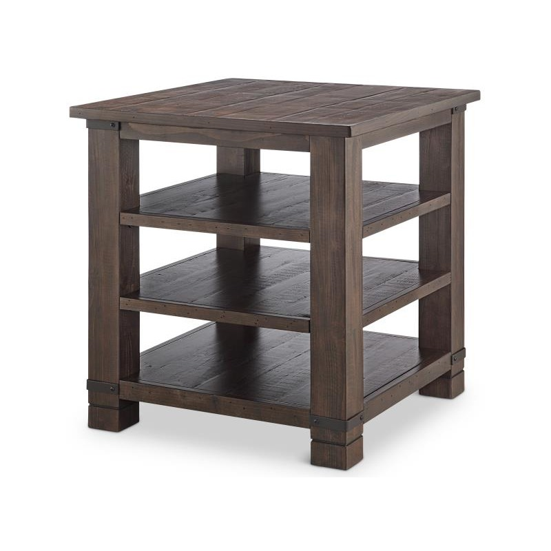 Pine Hill Square End Table