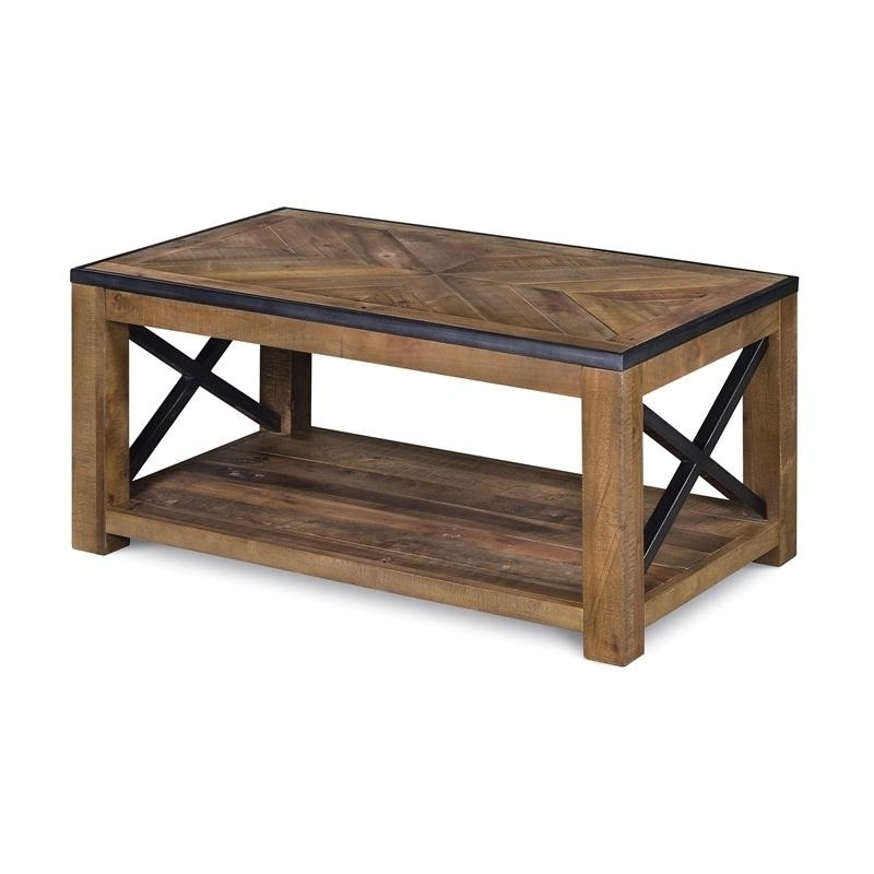 Small Rectangular Cocktail Table (w/ casters)