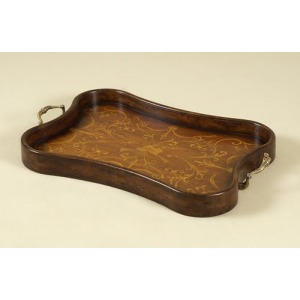 Aged Regency Finished Concave Tray