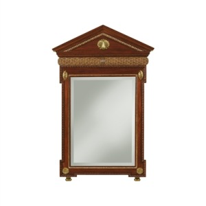 Knightsbridge Mahogany Finished Mirror