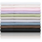 Woven Microfiber Sheet Set - King, Chocolate