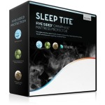 Sleep Tite 5-Sided Mattress Protector with Omniphase and Tencel, Full