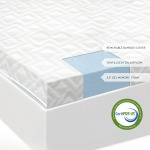 2.5 Inch Gel Memory Foam Mattress Topper