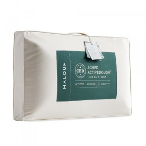 Zoned ActiveDough CBD Pillow, Queen, Mid Loft
