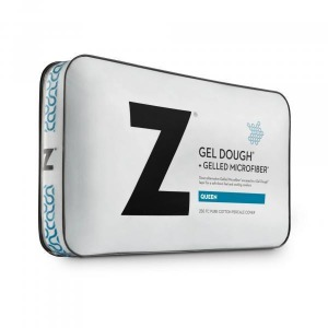 Gelled Microfiber + Gel Dough Layer Queen Pillow