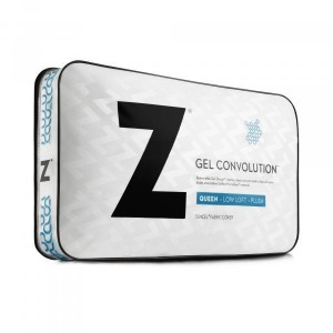 Gel Convolution Low Loft Queen Pillow