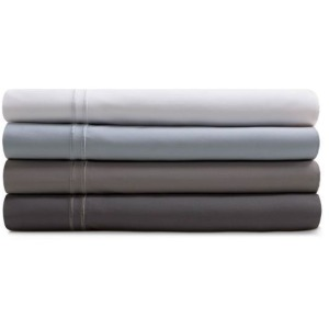 Woven Supima Cotton Sheet Set - Queen, Smoke