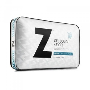 Gel Dough® + Z™ Gel Queen Mid Loft Pillow